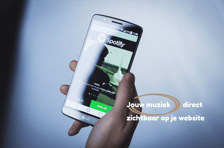 artiesten websites website laten maken voor muziekband webdesigner webdesign website voor zanger zangeres